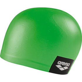 arena Logo Moulded Swimming Cap pea green